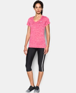 Women's UA Twist Tech™ V-Neck LIMITED TIME: FREE SHIPPING 2 Colors $22.49