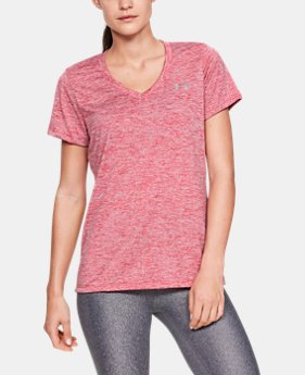 78ec96d1e54d59 Women s UA Tech™ Twist V-Neck 17 Colors Available  18.99 to  19.98