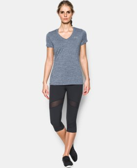 Women's UA Tech™ Twist V-Neck  1 Color $24.99