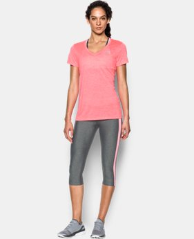 Best Seller Women's UA Tech™ Twist V-Neck  10 Colors $18.99 to $24.99