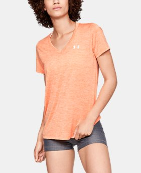 Women's UA Tech™ Twist V-Neck  2  Colors Available $23.99 to $29.99