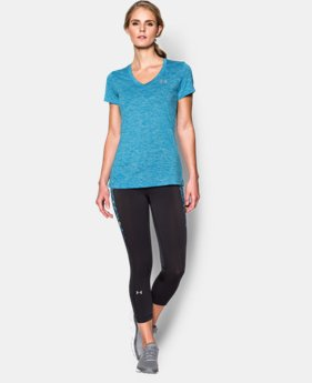 Women's UA Tech™ Twist V-Neck  1 Color $18.99
