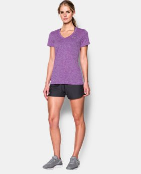 Women's UA Twist Tech™ V-Neck LIMITED TIME OFFER + FREE U.S. SHIPPING 2 Colors $18.74