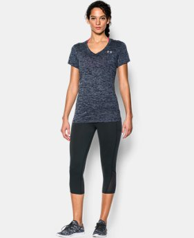 Women's UA Twist Tech™ V-Neck  1 Color $22.49