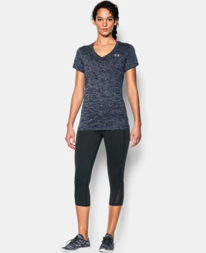 Women's UA Twist Tech™ V-Neck LIMITED TIME: FREE U.S. SHIPPING 1 Color $18.99