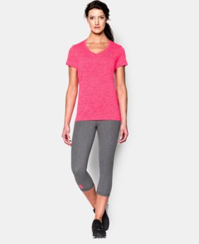 Women's UA Tech™ Twist V-Neck LIMITED TIME: FREE SHIPPING 8 Colors $22.99 to $29.99