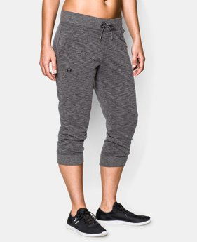 Women's UA Solid French Terry Capri  1 Color $33.99