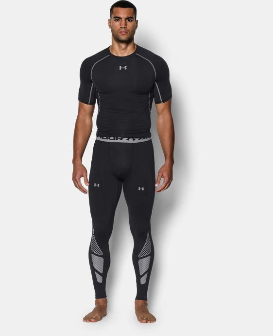 Men's UA Purestrike Grippy Compression Leggings  1 Color $39.74