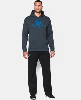 Men's UA Storm Sticks 'N Skull Hoodie  1 Color $48.99