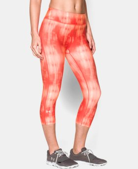 Women's UA HeatGear® Armour Stripe Capri