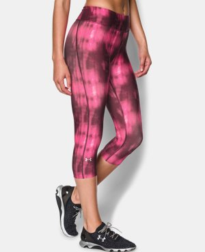 Women's UA HeatGear® Armour Stripe Capri  1 Color $22.49 to $23.99