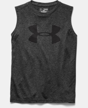 Boys' UA Tech™ Big Logo Sleeveless T-Shirt
