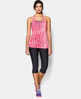 Women's UA Charged Cotton® Tri-Blend Printed Tank