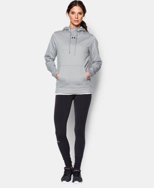 New Arrival  Women's UA Storm Armour® Fleece Hoodie LIMITED TIME: FREE SHIPPING 1 Color $64.99