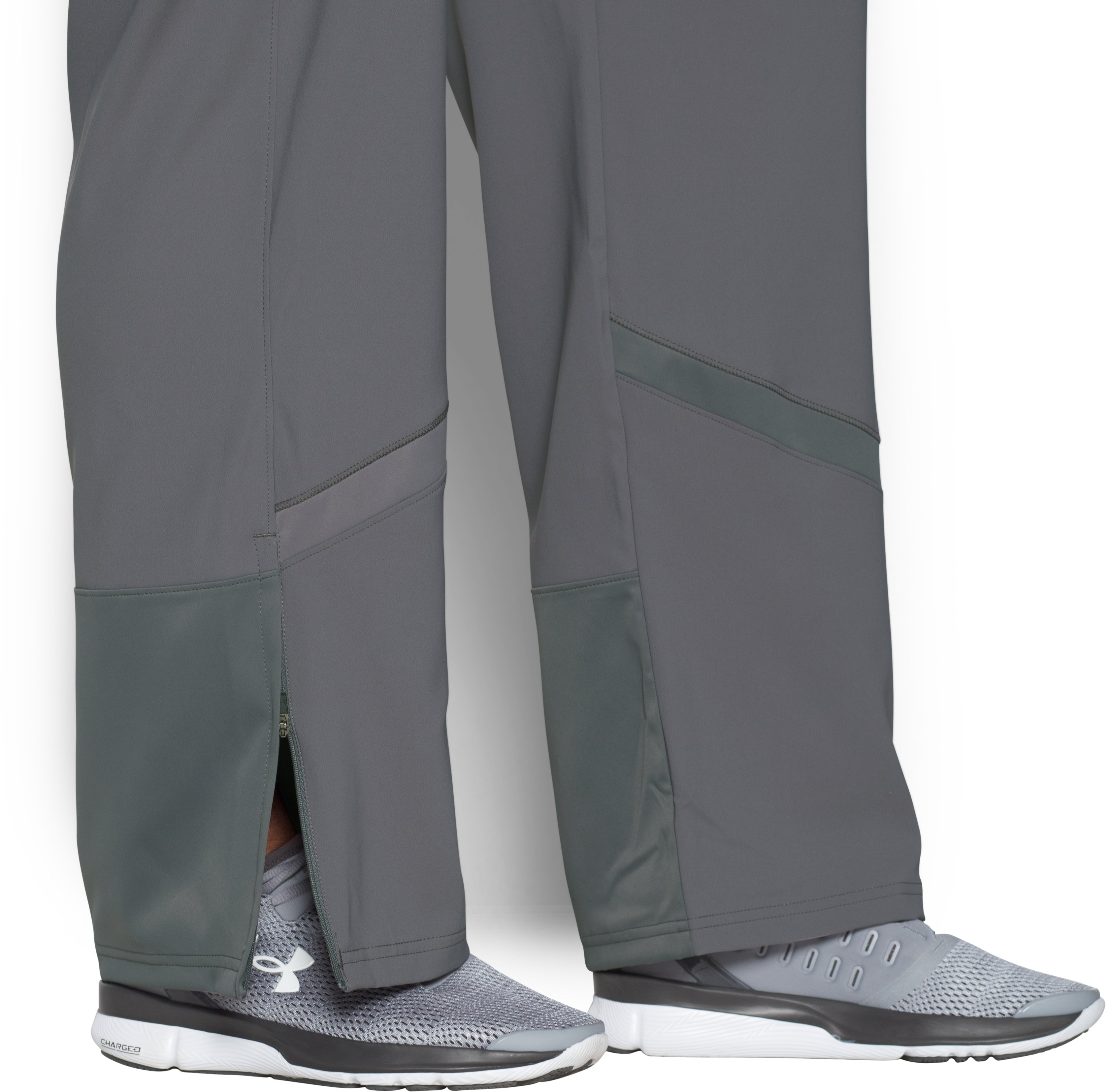 Women's Pre-Game Woven Pants, Graphite, undefined