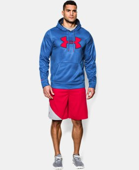 Men's UA Storm Armour® Fleece Big Logo Rattle Hoodie