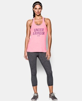 Women's UA Charged Cotton® Tri-Blend Under Armour Tank