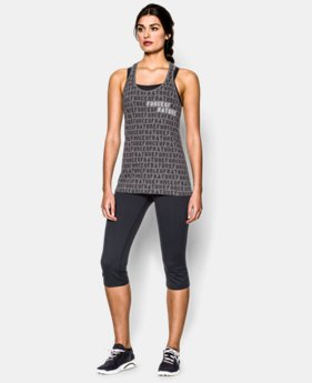 Women's UA Charged Cotton® Tri-Blend Force Of Nature Tank