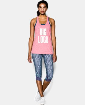 Women's UA Charged Cotton® Tri-Blend Big Logo Tank