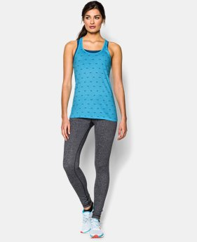 Women's UA Charged Cotton® Tri-Blend Baby Logo Tank