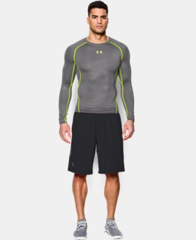 Men's UA HeatGear® Armour Printed Long Sleeve Compression Shirt LIMITED TIME: FREE U.S. SHIPPING 1 Color $22.49 to $29.99