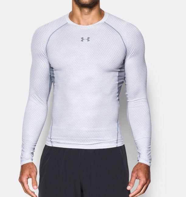 2f39cf3c97c Men s UA HeatGear® Armour Printed Long Sleeve Compression Shirt ...