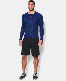 Men's UA HeatGear® Armour Printed Long Sleeve Compression Shirt LIMITED TIME: FREE U.S. SHIPPING 4 Colors $22.49 to $29.99
