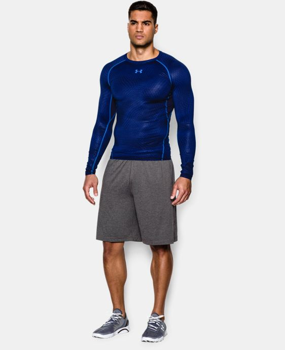 Men's UA HeatGear® Armour Printed Long Sleeve Compression Shirt LIMITED TIME: FREE U.S. SHIPPING 1 Color $39.99