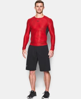 Men's UA HeatGear® Armour Printed Long Sleeve Compression Shirt LIMITED TIME: FREE SHIPPING 2 Colors $39.99