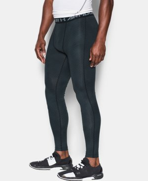Men's UA HeatGear® Armour Printed Compression Leggings LIMITED TIME: FREE SHIPPING 4 Colors $37.99