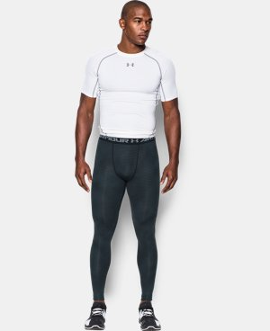 Men's UA HeatGear® Armour Printed Compression Leggings  4 Colors $44.99