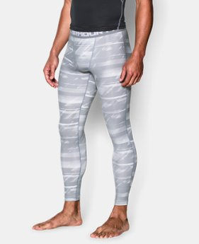 Men's UA HeatGear® Armour Printed Compression Leggings LIMITED TIME: FREE U.S. SHIPPING 4 Colors $25.49 to $33.99