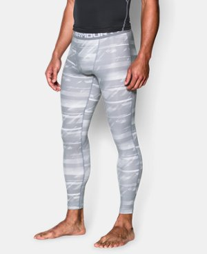 Men's UA HeatGear® Armour Printed Compression Leggings LIMITED TIME: FREE U.S. SHIPPING 3 Colors $25.49 to $33.99