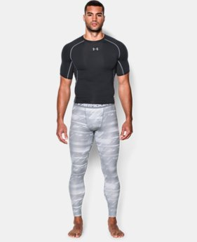 Men's UA HeatGear® Armour Printed Compression Leggings  6 Colors $26.99 to $33.99