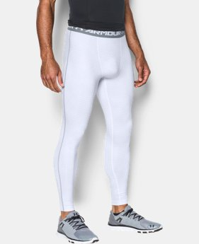 Men's UA HeatGear® Armour Printed Compression Leggings  1 Color $37.99