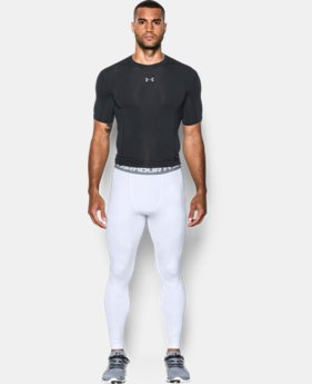 Men's UA HeatGear® Armour Printed Compression Leggings   $49.99