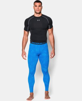 Men's UA HeatGear® Armour Printed Compression Leggings  4 Colors $25.49 to $33.99