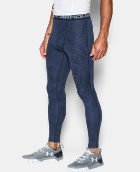 Men's UA HeatGear® Armour Printed Compression Leggings  2 Colors $37.99