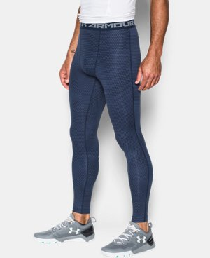 Men's UA HeatGear® Armour Printed Compression Leggings LIMITED TIME: FREE U.S. SHIPPING 1 Color $25.49 to $33.99