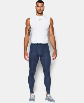 Men's UA HeatGear® Armour Printed Compression Leggings  1 Color $44.99