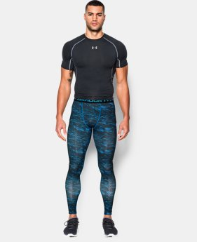 Men's UA HeatGear® Armour Printed Compression Leggings   $26.99 to $33.99