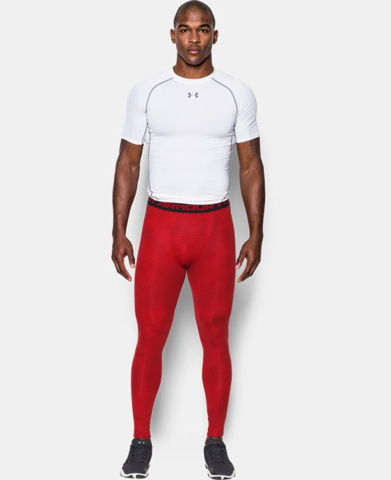 Men's UA HeatGear® Armour Printed Compression Leggings  2 Colors $49.99