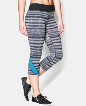 "Women's UA Take-A-Chance 20"" Printed Capri  4 Colors $41.99"