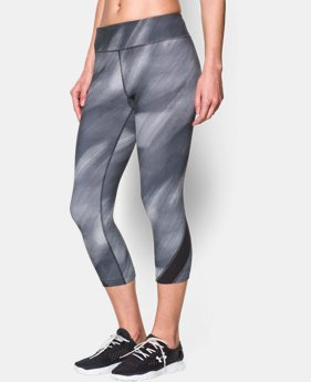 "Women's UA Take-A-Chance 20"" Printed Capri   $31.49 to $41.99"