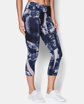 "Women's UA Take-A-Chance 20"" Printed Capri"