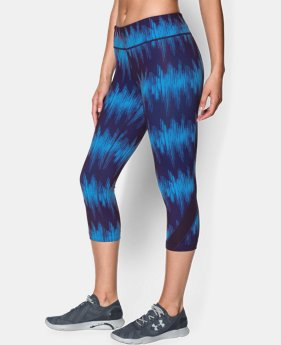 "Women's UA Take-A-Chance 20"" Printed Capri LIMITED TIME: FREE U.S. SHIPPING 1 Color $31.49 to $41.99"