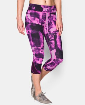 "Women's UA Take-A-Chance 20"" Printed Capri  1 Color $41.99"