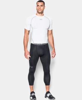 Men's UA HeatGear® Armour Printed ¾ Leggings  3 Colors $39.99