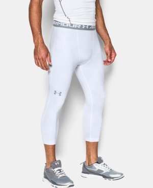 New Arrival Men's UA HeatGear® Armour Printed ¾ Leggings  1 Color $39.99