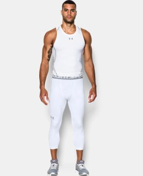 Men's UA HeatGear® Armour Printed ¾ Leggings  2 Colors $39.99